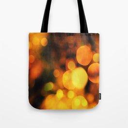 Coloured Bokeh Tote Bag