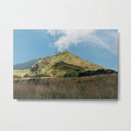 Mountain Arjuno Metal Print