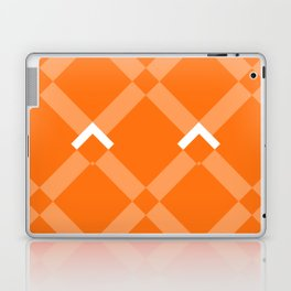 Chevrons Orange Laptop & iPad Skin