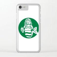 Minifigure Mermaid Clear iPhone Case