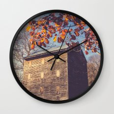 Rock Mill Wall Clock