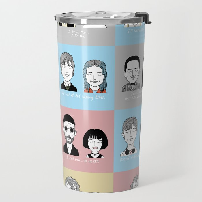 Sad Movie Couples Travel Mug