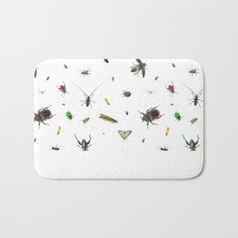 Love Bugs Bath Mat