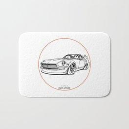 Crazy Car Art 0114 Bath Mat