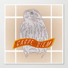 Falcon Carpe Diem Canvas Print