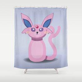 Evolution Bobbles - Espeon Shower Curtain