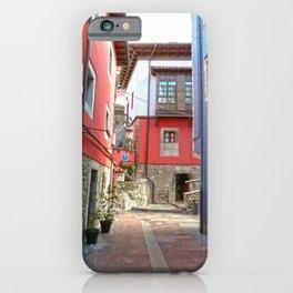 Ribadesella streets 1 iPhone Case