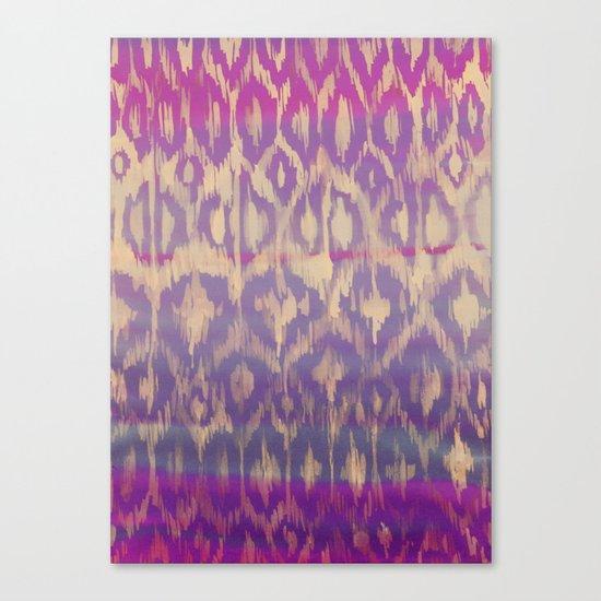 Ikat2 Canvas Print
