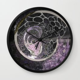 Mandala Grotesque New 1 Derivative Wall Clock