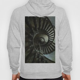 Brown wooden spiral staircase Hoody
