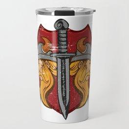 Viking Odin - Raven God Warrior Travel Mug