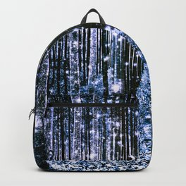 Magical Forest Dark Blue Elegance Backpack