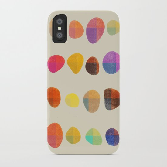 Painted Pebbles 4 iPhone Case