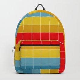 Grid in Roller Rink Backpack