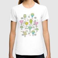 hot air balloons T-shirts featuring Hot air balloons by Anna Alekseeva kostolom3000