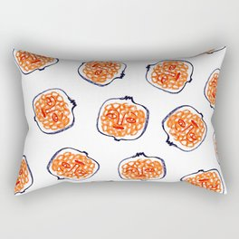 pomegranates everywhere Rectangular Pillow