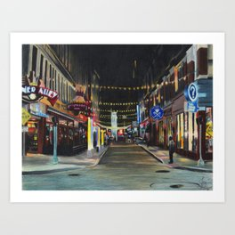 """Memories From East 4th Street"" Art Print"