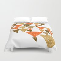 klimt Duvet Covers featuring New Klimt inspired by Angela Capacchione