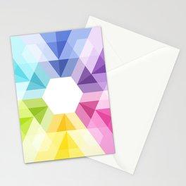 Fig. 025 Geometric shape Stationery Cards