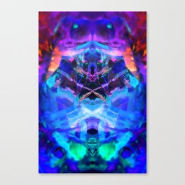 rorscach palais royal brussels belgium ice magic symmetry rorschach caleidoscope 9 Canvas Print