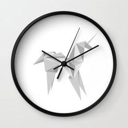 Blade Runner Origami Unicorn Wall Clock