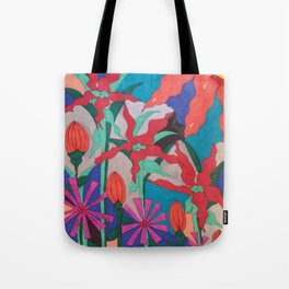 Bold Garden Night Party Tote Bag