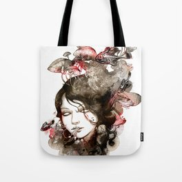 Metamorphosis of a fading memory Tote Bag