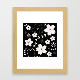 Dark Sakura 2018 Framed Art Print