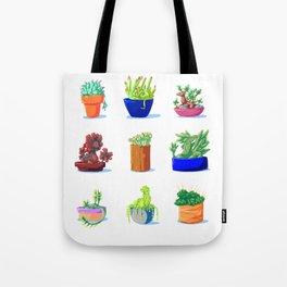 Succulent Dragons Tote Bag