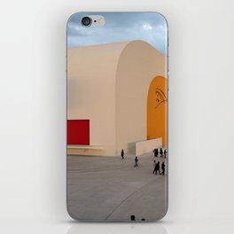 Centro Niemeyer | Aviles Spain iPhone Skin