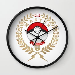 PokéMaster Wall Clock