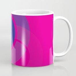 Off Center - Navy Reflection Coffee Mug