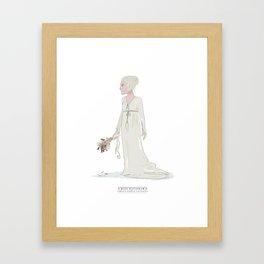 Miss Havisham Framed Art Print
