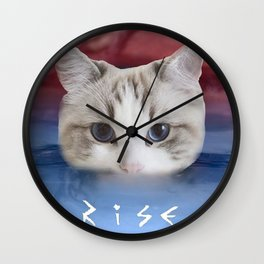 Cat Kitten Katy Wall Clock