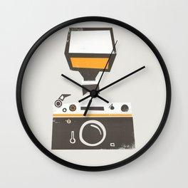 SLR Camera Wall Clock