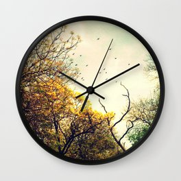 Beautiful morning Wall Clock