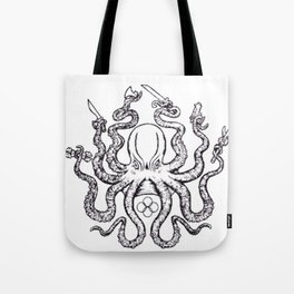 Fight lab Octopus Tote Bag