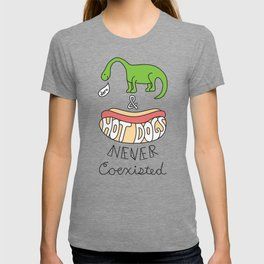 Dinos and Hot Dogs T-shirt