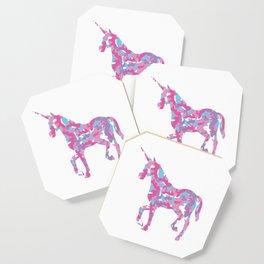 Unicorn's Breakfast Coaster