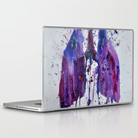 lungs Laptop & iPad Skins featuring Lungs II by Kiera Wilson
