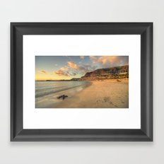 Golden Amadores Framed Art Print