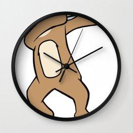 Cute and Funny Dabbing Sloth design Wall Clock