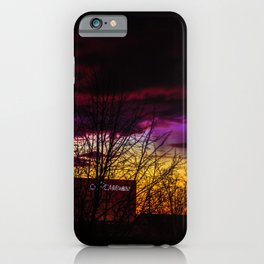 Sunset over Baden-Wurttemberg, Germany iPhone Case