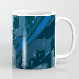 Icy Flowers Coffee Mug