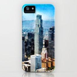 Los Angeles Art, California iPhone Case