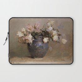 12,000pixel-500dpi - Abbott Handerson Thayer - Roses - Digital Remastered Edition Laptop Sleeve