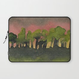 The Woods I Pink Laptop Sleeve