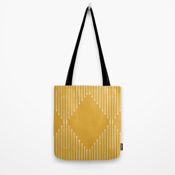 Geo / Yellow Tote Bag