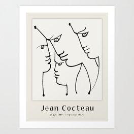 Poster-Jean Cocteau- L'Europe notre patrie (Europe our homeland). Art Print