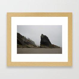Hug Point Framed Art Print